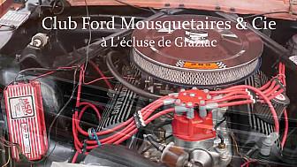 Club Ford Mustang à Graziac #Patrimoine #Tourisme #Fluvial @GersTourisme @Occitanie #Tv-Locale @smartrezo