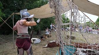 Fête Romaine à la Domus #Elusa #CapitaleAntique #Gers @Occitanie #Tv_Locale @Smartrezo