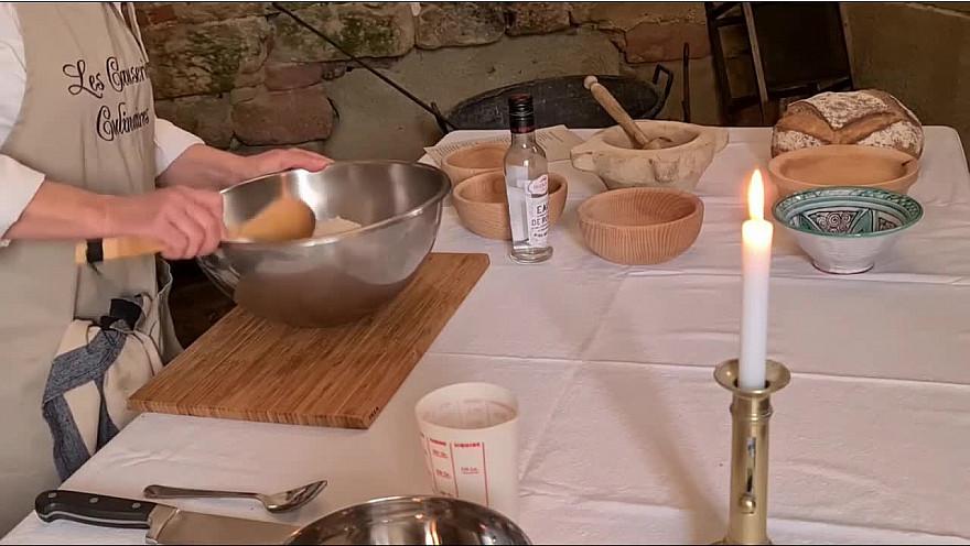 Recette du Massepain #Cuisine #Médiévale #Conférences #Patrimoine @AbbayeDeFlaran @LeGers32 @GersTourisme @Occitanie #Tv_Locale @Smartrezo