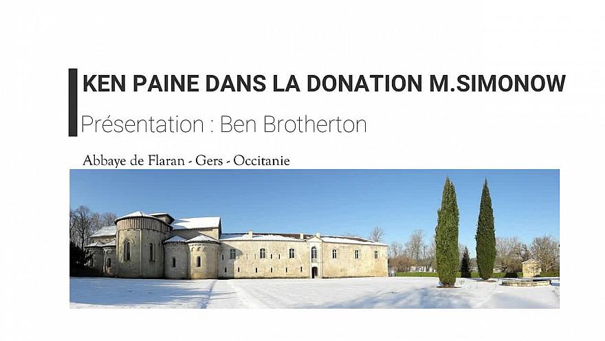 Ken Paine dans la collection Simonow #Abbaye #Flaran @GersTourisme @Occitanie #TvLocale @Smartrezo